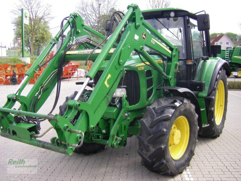 Traktor des Typs John Deere 6330 Standard, Gebrauchtmaschine in Brunnen (Bild 1)