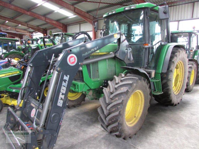 Traktor типа John Deere 6400, Gebrauchtmaschine в Bad Wildungen-Wega (Фотография 1)