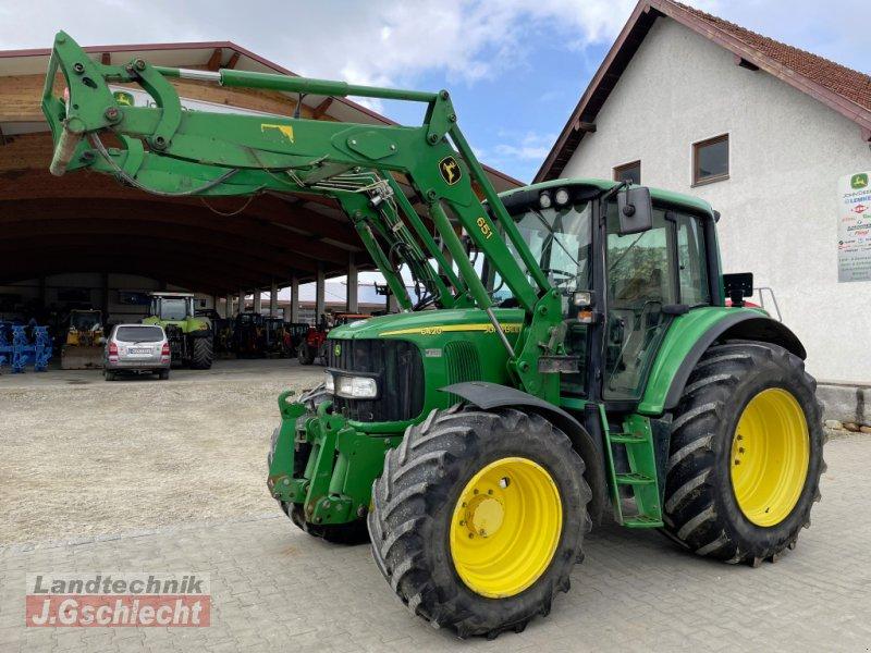 Traktor типа John Deere 6420 Premium, Gebrauchtmaschine в Mühldorf (Фотография 1)