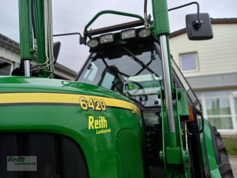 Traktor des Typs John Deere 6420 Premium, Gebrauchtmaschine in Wolnzach (Bild 1)