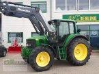 Traktor des Typs John Deere 6420 S Premium mit Quicke Q 65 Frontlader in Pollenfeld