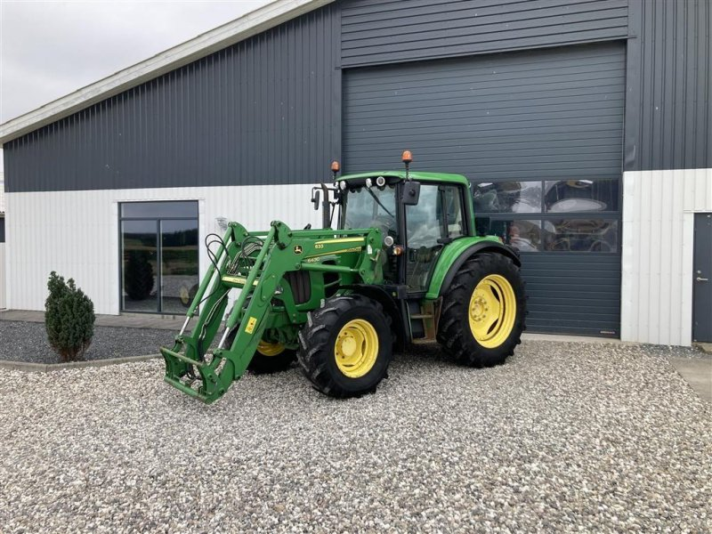 Traktor tip John Deere 6430  Premium med JD læsser, Gebrauchtmaschine in Thorsø (Poză 1)