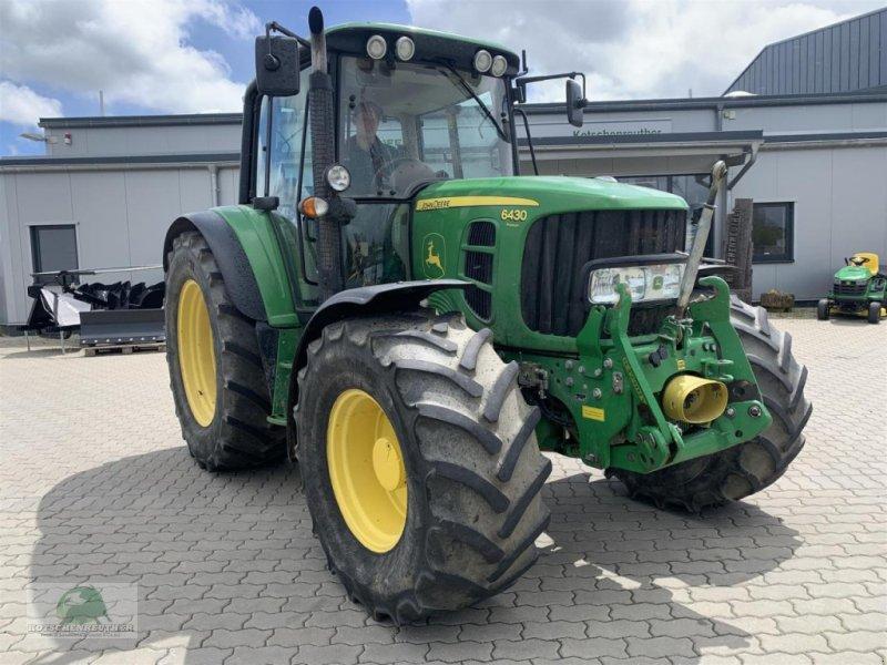 Traktor типа John Deere 6430, Gebrauchtmaschine в Münchberg (Фотография 3)