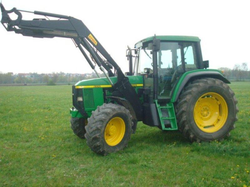 Traktor des Typs John Deere 6510 PREMIUM, Gebrauchtmaschine in Oxenbronn (Bild 1)