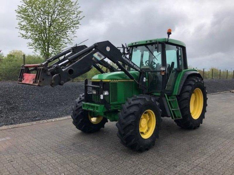 Traktor des Typs John Deere 6600 4WD, 40 KM/T, Gebrauchtmaschine in Børkop (Bild 2)