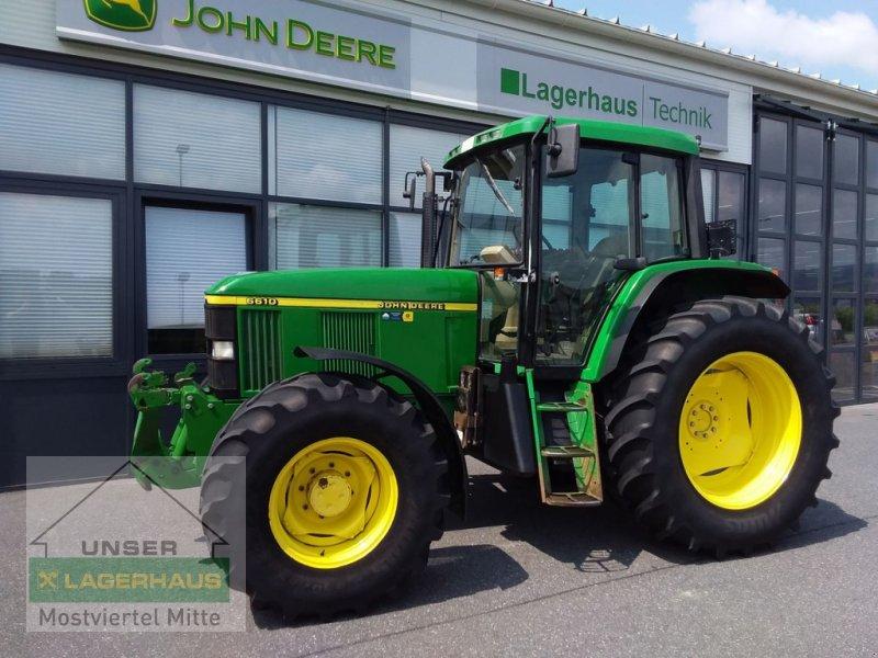 Traktor des Typs John Deere 6610 De-Luxe, Gebrauchtmaschine in Bergland (Bild 1)