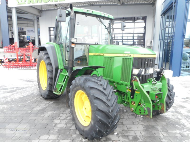 Traktor typu John Deere 6610 Premium, Gebrauchtmaschine w Wörnitz (Zdjęcie 1)