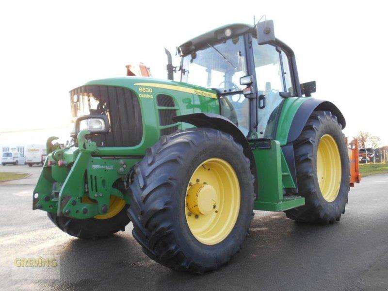 Traktor des Typs John Deere 6630 mit Gödde Ausleger GZA 750S, Gebrauchtmaschine in Wettringen (Bild 11)