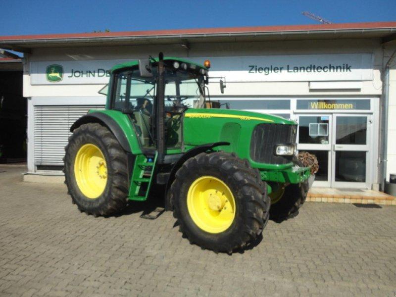 Traktor типа John Deere 6820, Gebrauchtmaschine в Kandern-Tannenkirch (Фотография 1)