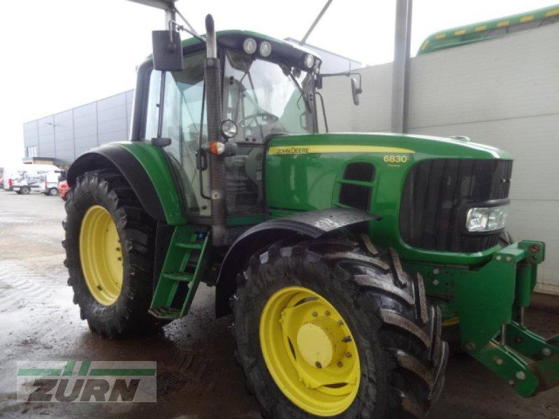 Traktor типа John Deere 6830 AutoQuad Plus, Gebrauchtmaschine в Rot am See (Фотография 1)