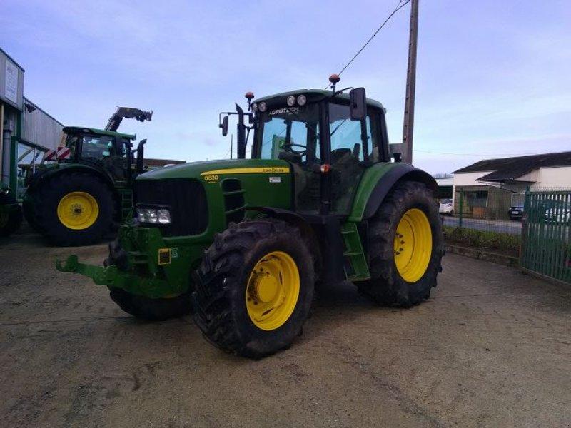 Traktor a típus John Deere 6830 TLS, Gebrauchtmaschine ekkor: BOSC LE HARD (Kép 1)