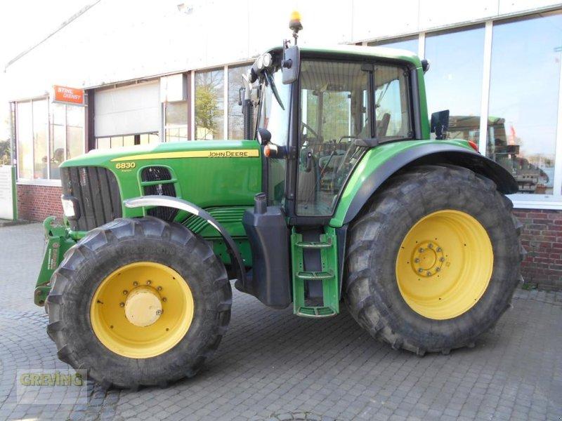 Traktor des Typs John Deere 6830, Gebrauchtmaschine in Greven (Bild 4)