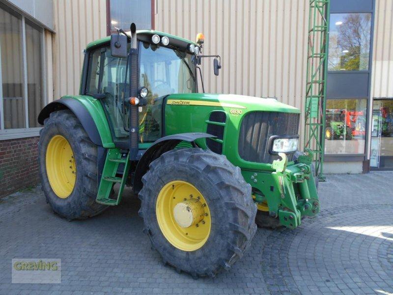 Traktor des Typs John Deere 6830, Gebrauchtmaschine in Greven (Bild 6)
