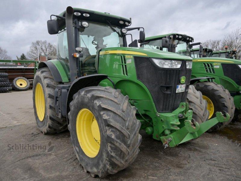 Traktor des Typs John Deere 7230R 20/20 CQ-50, Gebrauchtmaschine in Marxen (Bild 1)