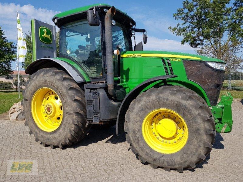 Traktor des Typs John Deere 7260R RÜFA, Gebrauchtmaschine in Schenkenberg (Bild 8)