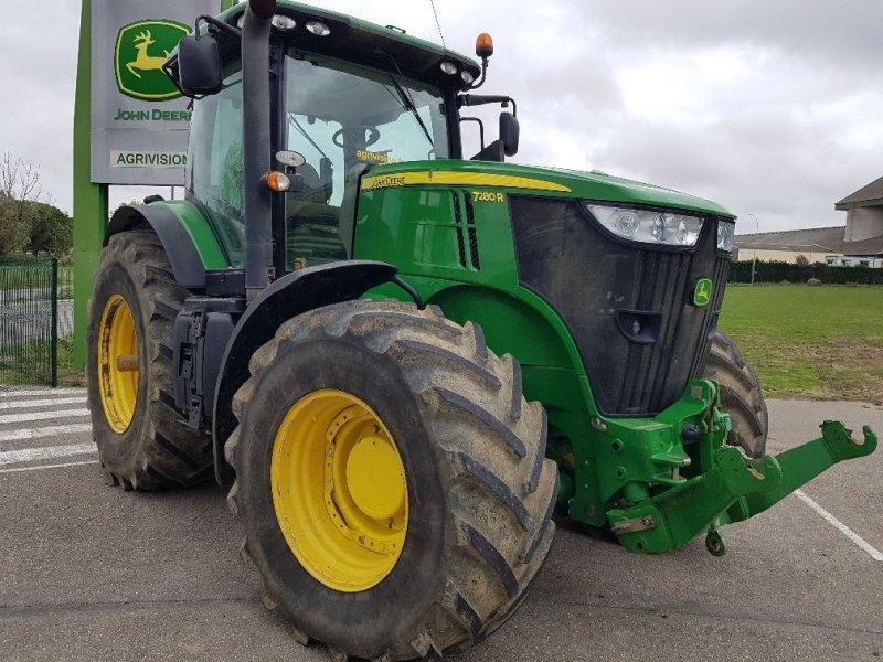 Traktor des Typs John Deere 7280 R, Gebrauchtmaschine in CASTETIS (Bild 1)