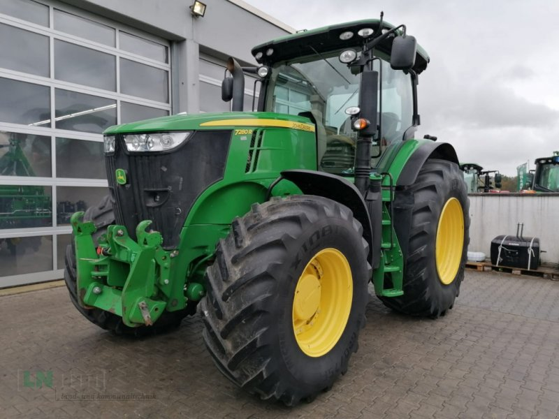 Traktor des Typs John Deere 7280 R, Gebrauchtmaschine in Eggenfelden (Bild 1)