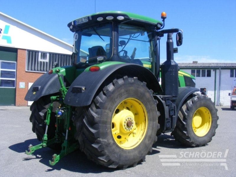 Traktor des Typs John Deere 7290R, Gebrauchtmaschine in Leizen (Bild 5)