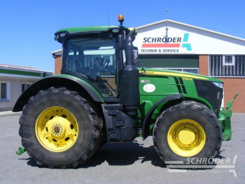 Traktor des Typs John Deere 7290R, Gebrauchtmaschine in Leizen (Bild 1)