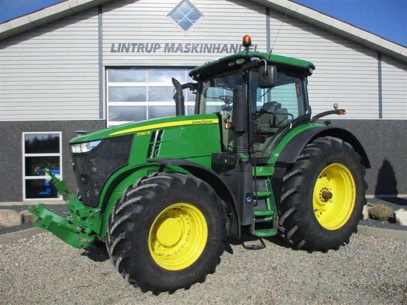 Traktor tip John Deere 7310R Kun 2831timer fra ny. DK traktor fra ny, Gebrauchtmaschine in Lintrup (Poză 1)