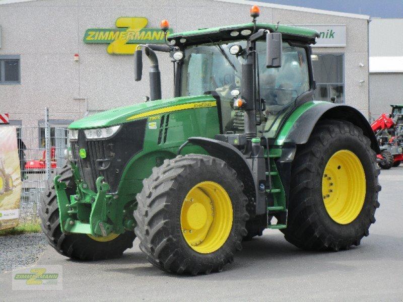 Traktor des Typs John Deere 7310R mit PP 1+4 5000h, Gebrauchtmaschine in Euskirchen (Bild 1)