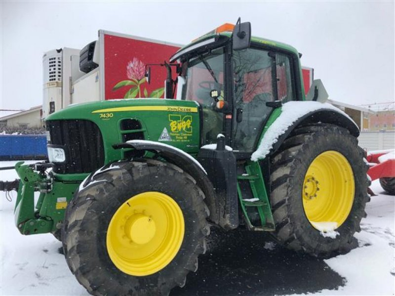 Traktor a típus John Deere 7430 AP TRAKTOR FR.LYFT, Gebrauchtmaschine ekkor:  (Kép 1)