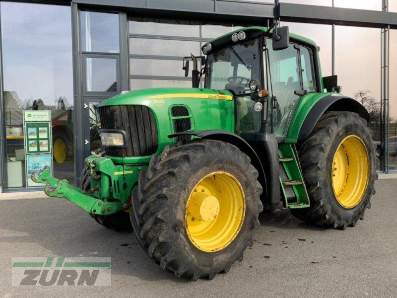 Traktor des Typs John Deere 7430 Premium, Gebrauchtmaschine in Euerhausen (Bild 1)