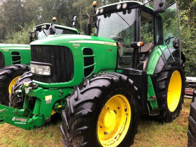 Traktor a típus John Deere 7530 AQ+ TRAKTOR FR.LYFT, Gebrauchtmaschine ekkor:  (Kép 1)
