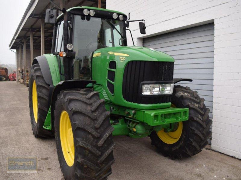 Traktor typu John Deere 7530 Premium TLS, Gebrauchtmaschine v Bremen (Obrázok 2)