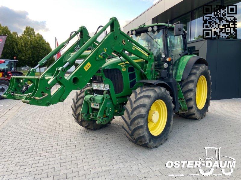 Traktor des Typs John Deere 7530 Premium, Gebrauchtmaschine in Kaisersesch (Bild 1)