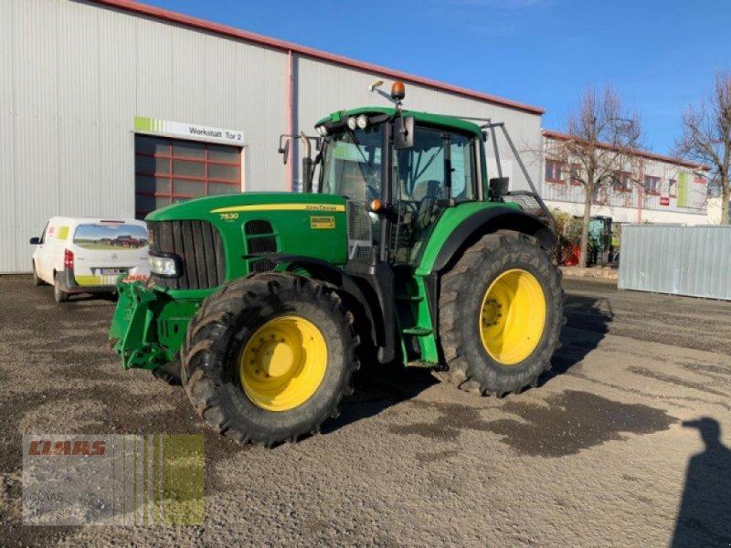 Traktor des Typs John Deere 7530 Premium, Gebrauchtmaschine in Vachdorf (Bild 1)