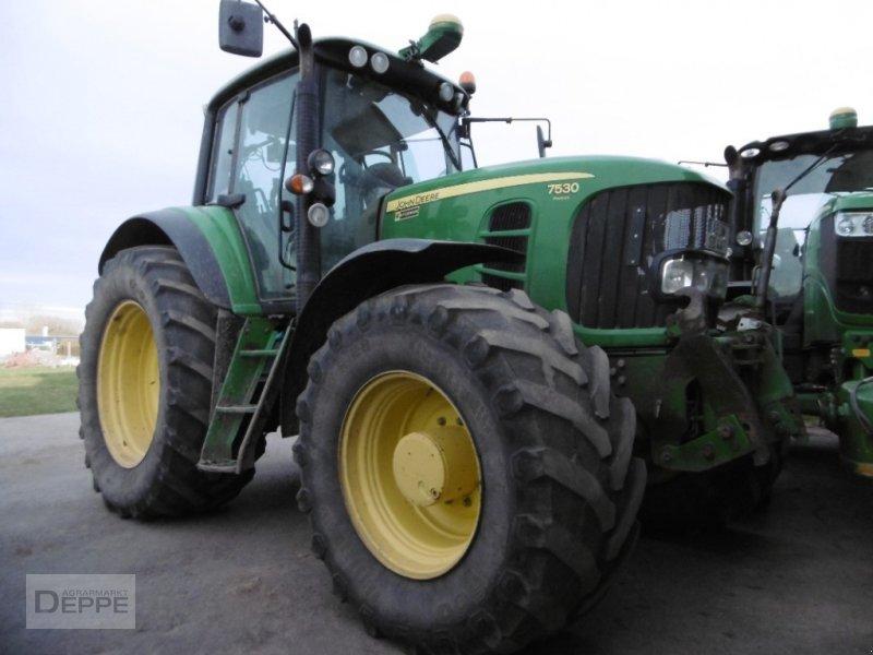 Traktor типа John Deere 7530, Gebrauchtmaschine в Bad Lauterberg-Barbis (Фотография 1)