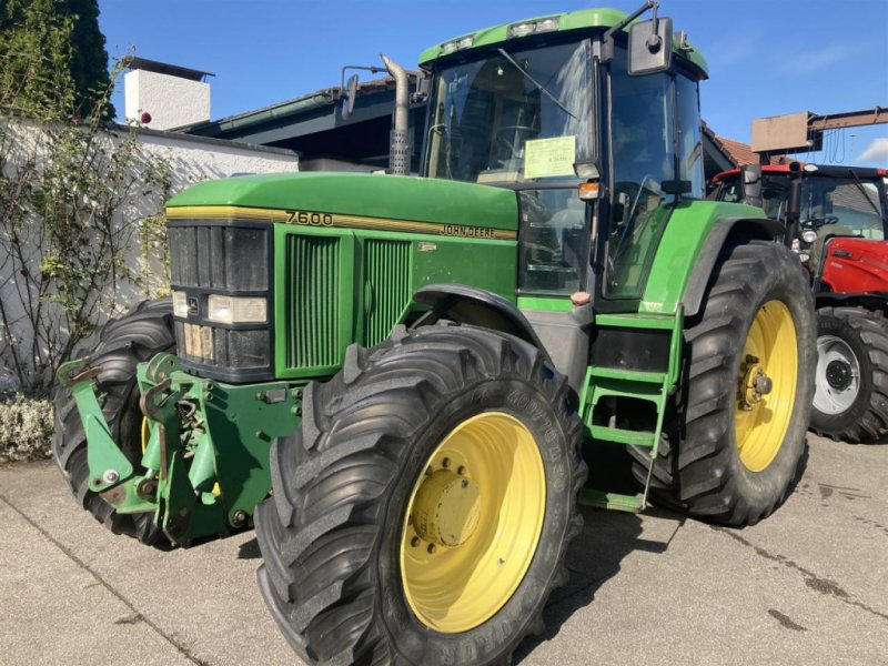 Traktor des Typs John Deere 7600, Gebrauchtmaschine in Ampfing (Bild 1)