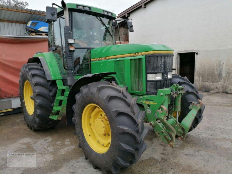 Traktor des Typs John Deere 7700 A, Gebrauchtmaschine in Obing (Bild 1)