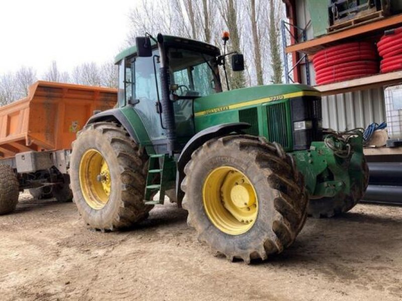Traktor typu John Deere 7710, Gebrauchtmaschine w SAVIGNEUX (Zdjęcie 1)