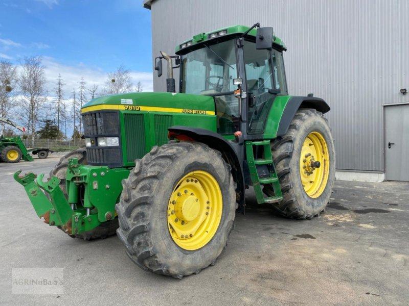 Traktor des Typs John Deere 7810 Powrshift Getriebe, Gebrauchtmaschine in Prenzlau (Bild 1)