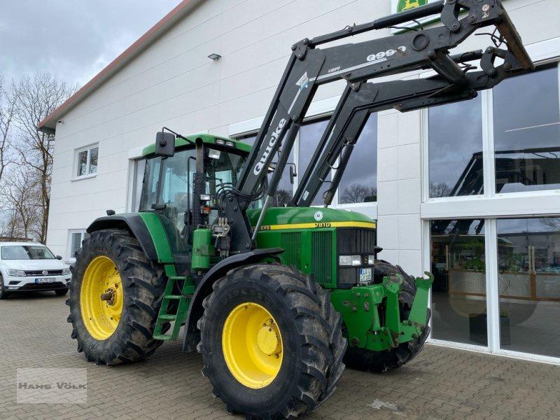Traktor des Typs John Deere 7810, Gebrauchtmaschine in Eching (Bild 1)