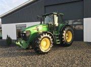 John Deere 7830 Premium AP næsten nye dæk Tractor
