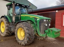 John Deere 8295 R PS New Engine Traktor