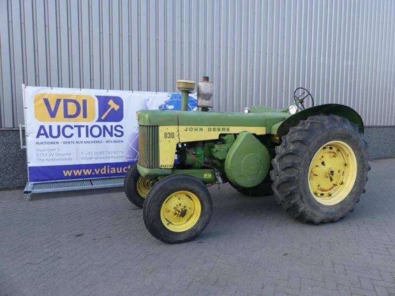 Traktor типа John Deere 830, Gebrauchtmaschine в Deurne (Фотография 1)