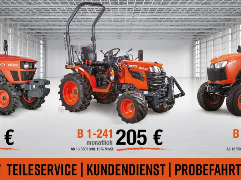 Traktor des Typs Kubota B1241 ab 0,0%, Neumaschine in Olpe (Bild 1)