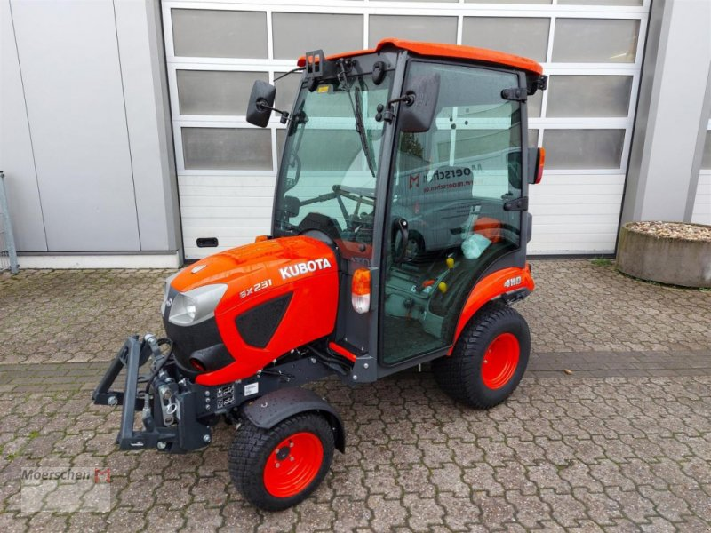 Traktor of the type Kubota BX 231, Neumaschine in Tönisvorst (Picture 1)