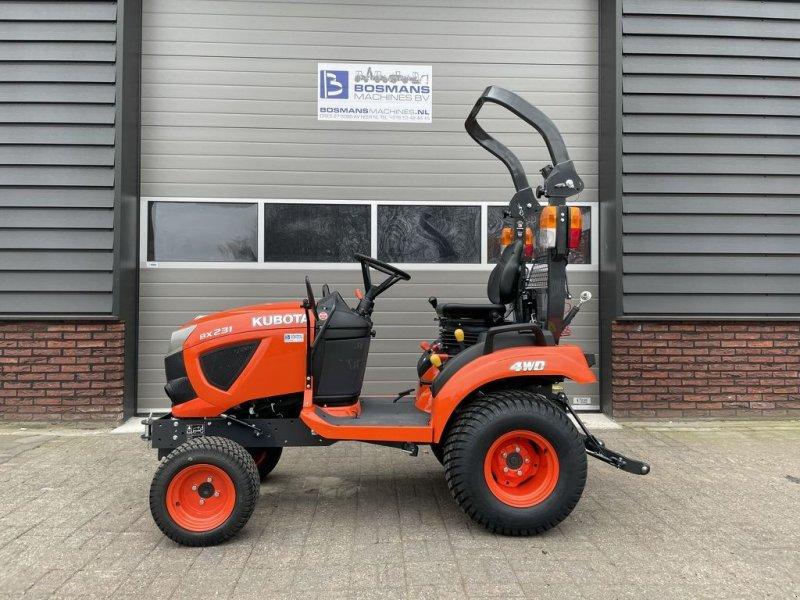 Traktor des Typs Kubota BX231 DV minitractor NIEUW (4WD 23 PK HST) 189.- p.m, Gebrauchtmaschine in Neer (Bild 1)