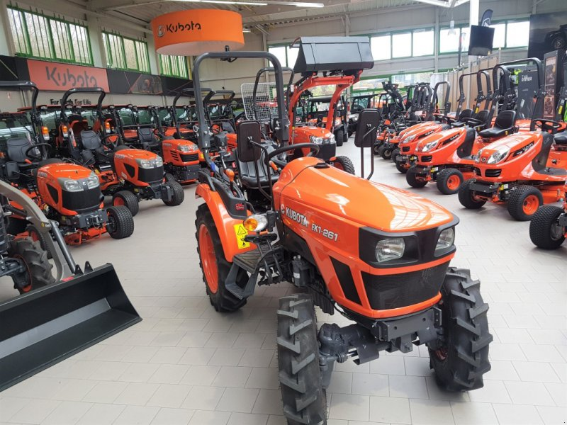 Traktor des Typs Kubota EK1-261, Neumaschine in Olpe (Bild 1)