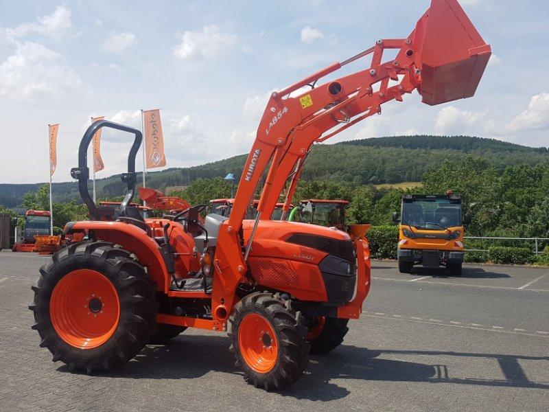 Traktor des Typs Kubota L 1501 HST Frontlader, Gebrauchtmaschine in Olpe (Bild 1)