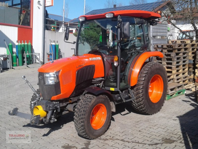 Traktor des Typs Kubota L2602 Vorführschlepper, Gebrauchtmaschine in Mainburg/Wambach (Bild 1)