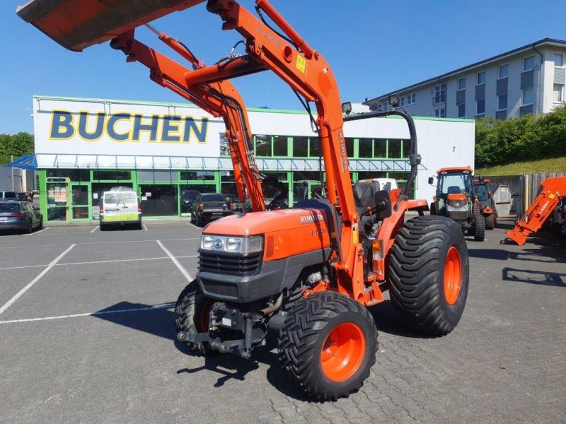 Traktor des Typs Kubota L4100 HST Frontlader, Gebrauchtmaschine in Olpe (Bild 1)