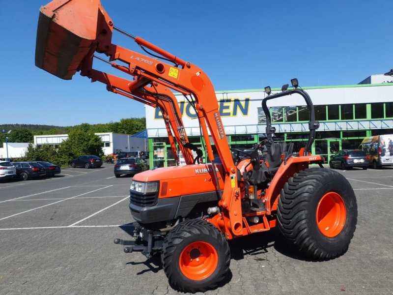 Traktor des Typs Kubota L4100 HST Frontlader, Gebrauchtmaschine in Olpe (Bild 2)