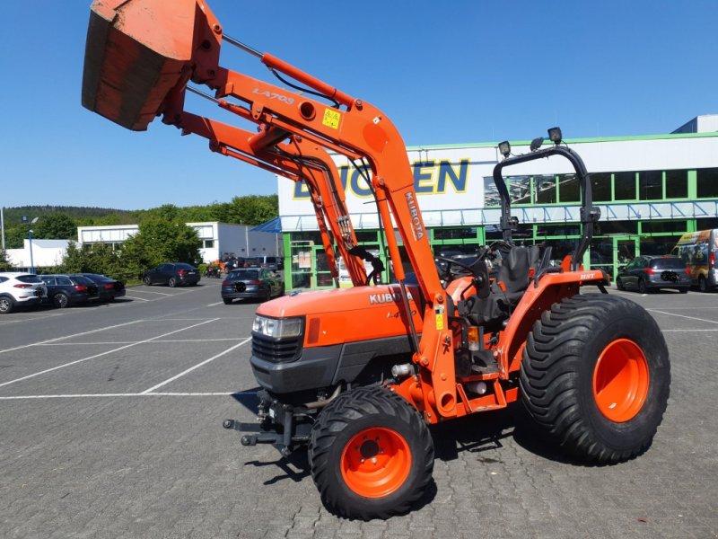 Traktor des Typs Kubota L4100 HST Frontlader, Gebrauchtmaschine in Olpe (Bild 3)