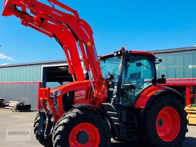 Traktor des Typs Kubota M 7151 Premium KVT Stufenlos Miete ab 24,90 € / Betriebsstunde, Vorführmaschine in Beselich-Obertiefenbach (Bild 1)